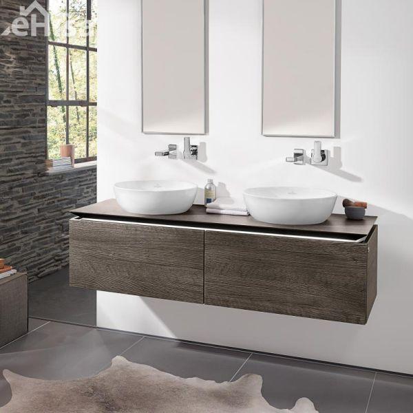 okrogli nadpultni umivalnik brez preliva artis villeroy boch 41794301 ehi. Black Bedroom Furniture Sets. Home Design Ideas